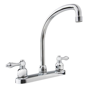 Chrome Hi-Arc RV Kitchen Dura Faucet