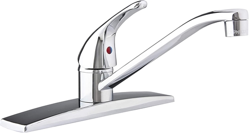 Chrome Single Lever RV Kitchen Faucet
