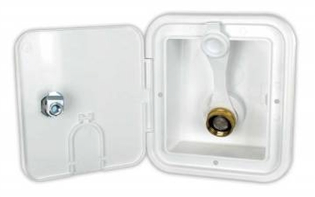 JR Products BGE12-6-A City Water Hatch- Polar White