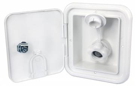 JR Products BGE12-P-A City Water Hatch- Polar White
