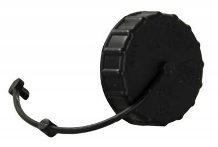 JR Products 222BK-A Gravity Water Fill Cap & Strap- Black