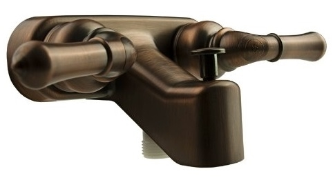 Bronze Classical Tub & Shower Dura Diverter Faucet