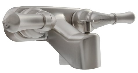 Satin Nickel Classical RV Tub & Shower Diverter Faucet