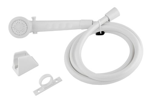 Dura Faucet DF-SA130-WT RV Shower Head Kit - White