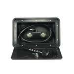 Dura Faucet DF-SA170-BK RV Exterior Shower Box Kit - Black