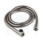 "Dura Faucet DF-SA200-CP 60"" RV Shower Hose - Chrome"