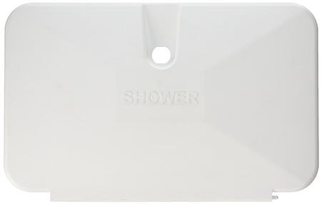JR Products 620PW Shower Door Replacement - Polar White