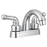 Dura Faucet DF-PL620C-CP Classical Arc Spout Chrome RV Bathroom Faucet