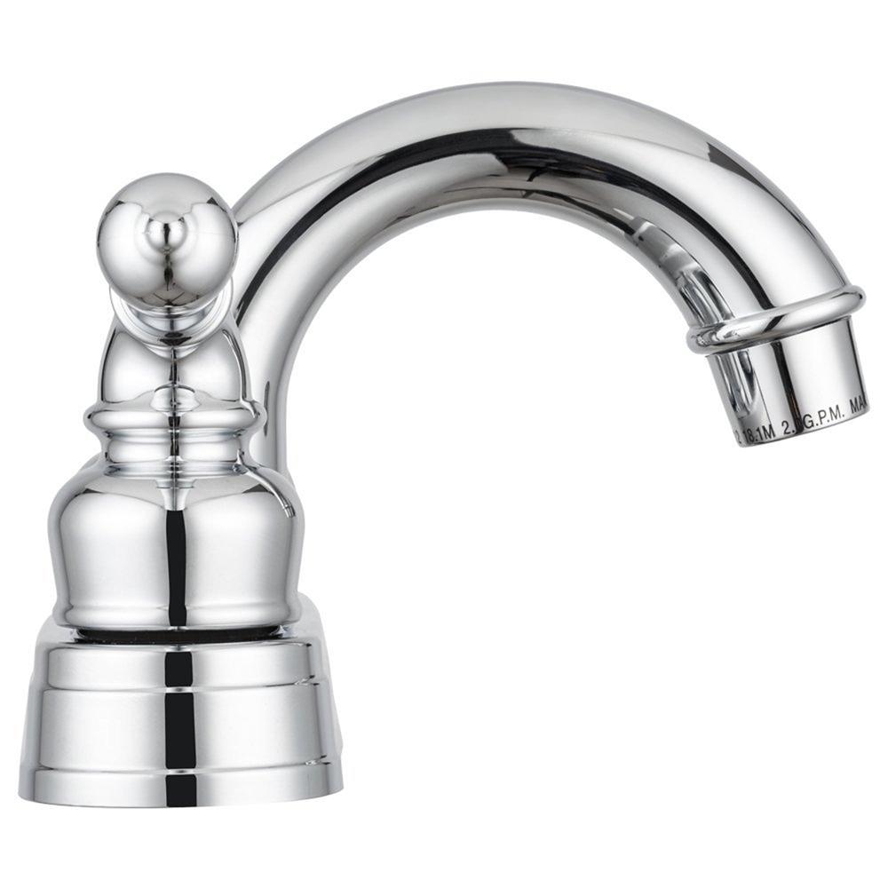 Dura Faucet DF-PL620C-CP Classical Arc Spout Chrome RV Bathroom Faucet