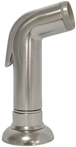 Dura Faucet DF-RK810-SN Satin Nickel Replacement Side Sprayer With Hose