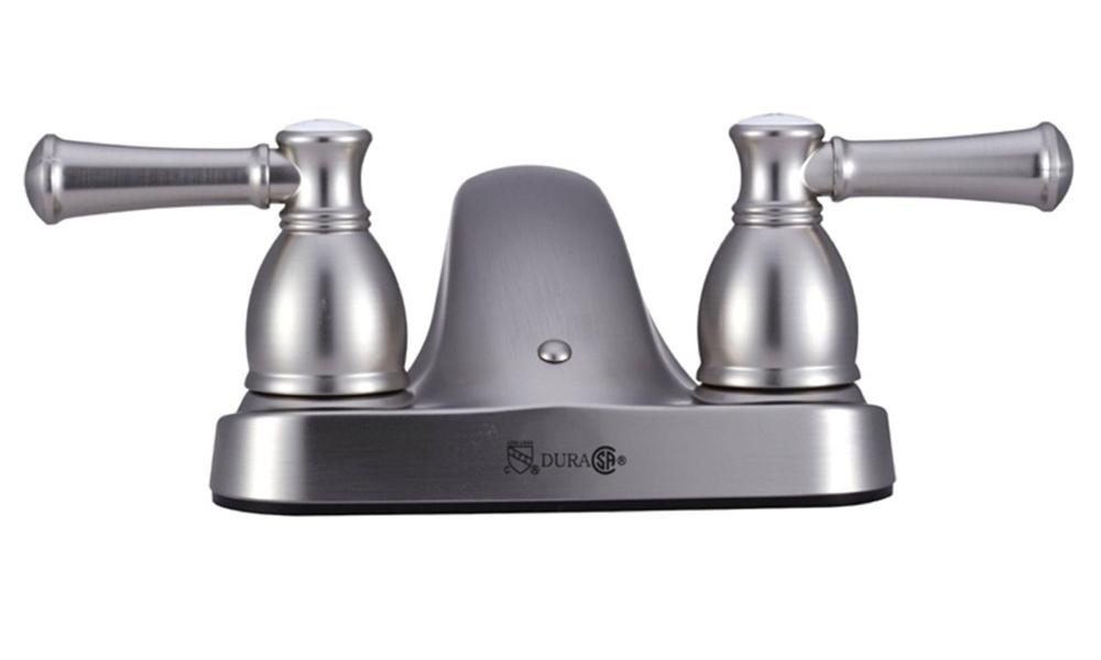 Dura Faucet DF-PL700L-SN Designer RV Lavatory Faucet, Satin Nickel