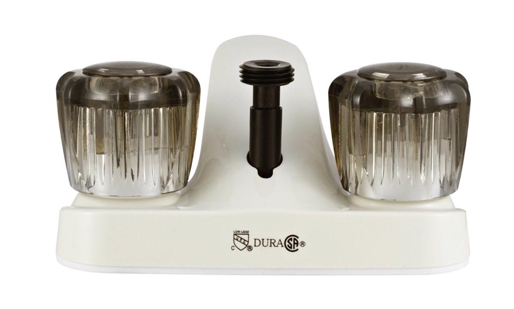 Dura Faucet DF-PL720S-BQ Bisque RV Bathroom Faucet W/Shower Diverter
