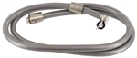 "Phoenix 9-901-60BN Replacement 60"" Vinyl Shower Hose - Brushed Nickel"