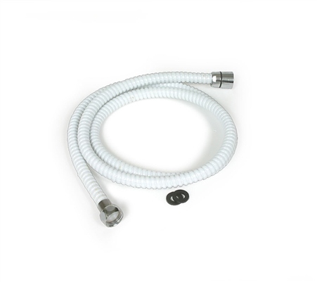 "Camco 60"" RV Shower Head Flexhose White"