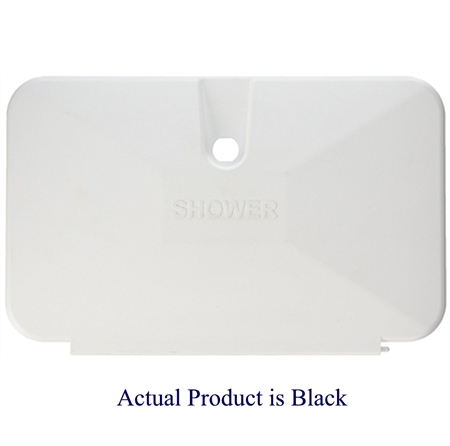 JR Products 620BK Shower Door Replacement - Black