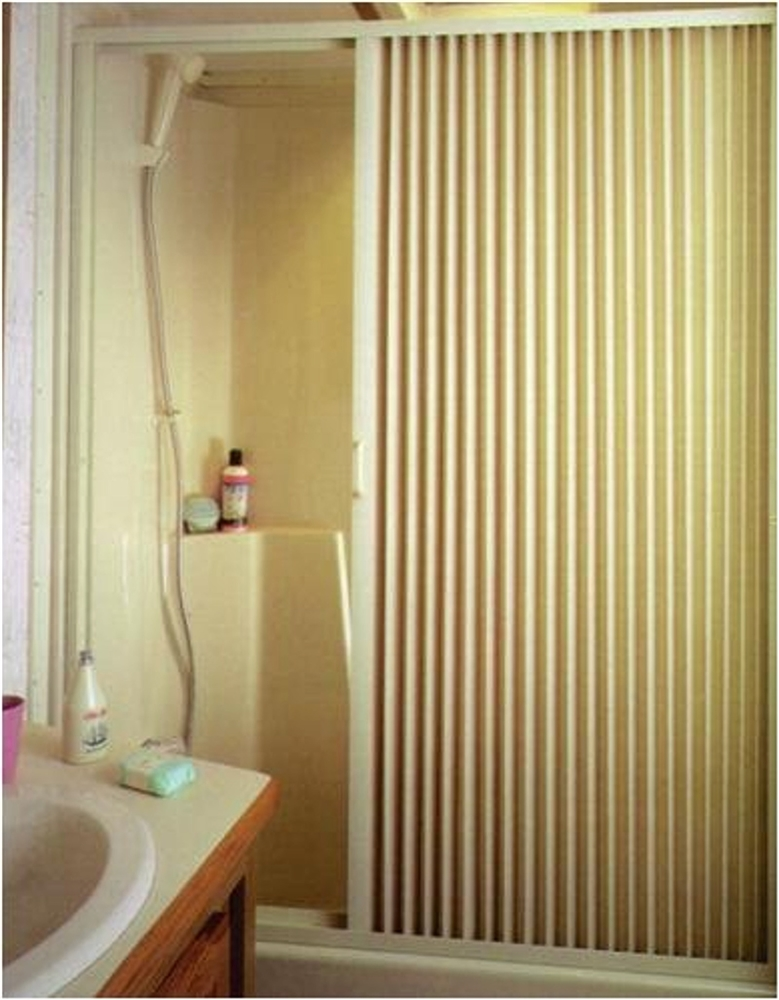 IRVINE 3667SI RV Pleated Shower Door 36\