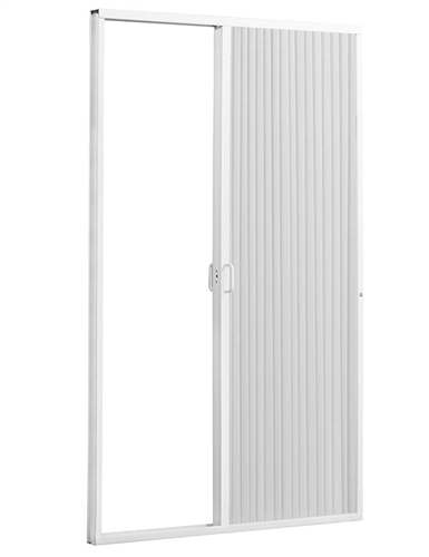 "IRVINE 3667SW RV Pleated Shower Door 36""W x 67""H- White"