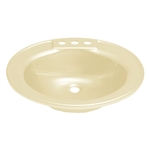 Lippert Components 209358 Better Bath RV Sink - Parchment