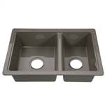 Lippert 808488 Better Bath Double Bowl Galley Sink