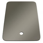 Lippert 306197 Better Bath Large Right Sink Cover - Stainless Steel