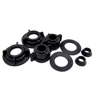 Dura Faucet RV Faucet Mounting Nuts & Washers