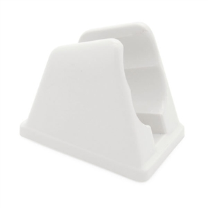 Dura Faucet White Hand Held Shower Wand Bracket