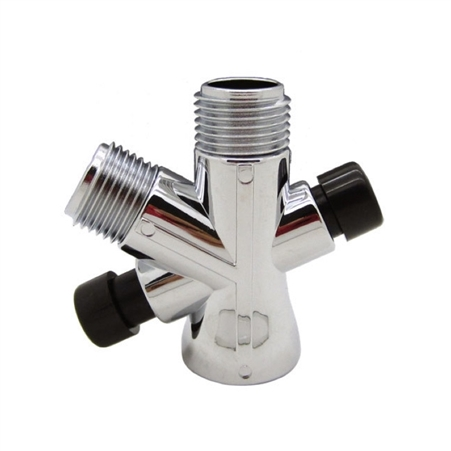 Dura Faucet DF-SA160-CP Shower Head Diverter - Chrome