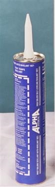 Alpha System N102103TK Self Leveling RV Roof Sealant - White - 11 Oz
