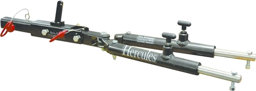 Hercules 10002R RV Tow Bar With Ready Brake - 12,000 lb Rated - Red