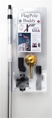 "Flag Pole Buddy - 1"" RV Flag Pole Kit"