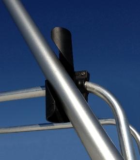 FlagPole Buddy 106201K Fiberglass Pole And Ladder Mount Kit - 22' x 2