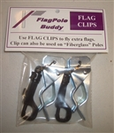 FlagPole Buddy 106550 Flag Clips - 2 Pack