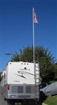 FlagPole Buddy 106DPH16 Fiberglass Pole - 16 Ft