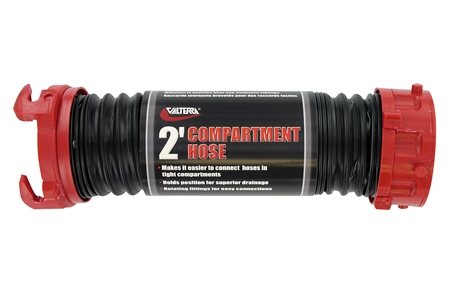 Valterra D04-0402 Viper RV Compartment Sewer Hose - 2'
