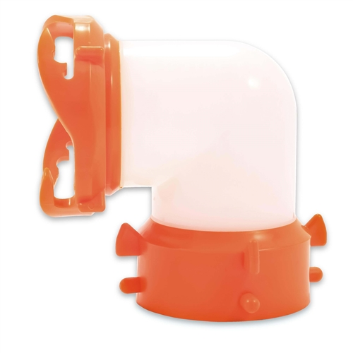 Camco RV Rhinoflex 90 Degree Swivel Fit - Semi-Translucent