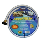 "Valterra W01-5120 AquaFRESH High-Pressure RV Fresh Water Hose - 10' x 1/2"" ID"