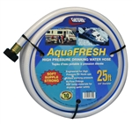 "Valterra W01-6300 AquaFRESH High-Pressure RV Fresh Water Hose - 25' x 5/8"" D"