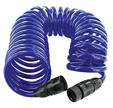 25 ft coiled water hose