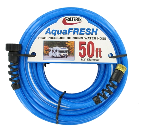 Valterra W01-8600 AquaFRESH High Pressure RV Water Hose - 50'