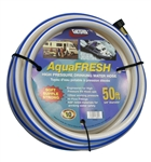 "Valterra W01-6600 AquaFRESH High-Pressure RV Fresh Water Hose - 50' x 5/8"" D"