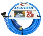 "Valterra W01-9300 AquaFRESH High-Pressure RV Fresh Water Hose - 25' x 5/8"" ID"
