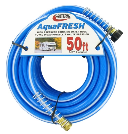 Valterra W01-9600 AquaFRESH High Pressure RV Water Hose - 50""
