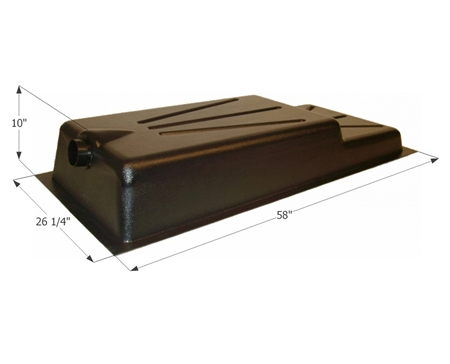 Icon 36 Gallon RV Holding Tank - Recessed Drain HT330RE