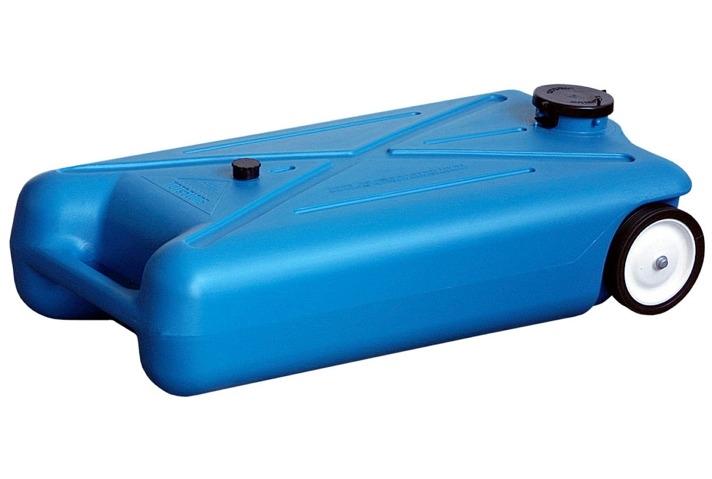 Barker 10893 10 Gallon Tote Along Portable Waste Tank 2