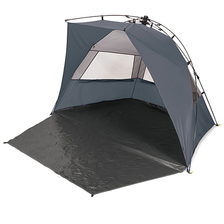 Picnic Time Haven Sun Shelter - Grey/Light Grey