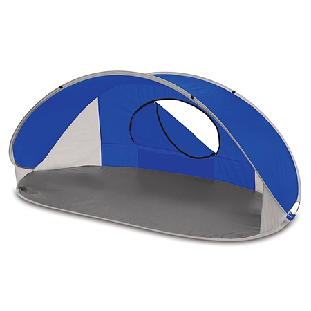 Picnic Time Manta Sun Shelter - Blue/Grey/Silver
