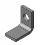 Lippert 113535 Small Hydraulic Slide-Out System Ram Bracket