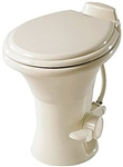 "Dometic 302310083 Ceramic 18"" RV Toilet - 310 Series Without Hand Sprayer - Bone"