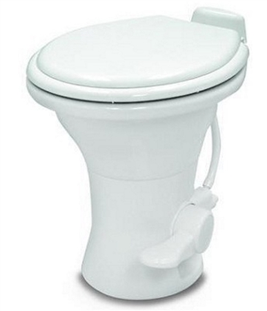 Dometic 302310181 Ceramic 310 Series RV Toilet With Hand Sprayer - White