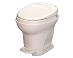 Thetford 31679 Aqua-Magic V Pedal High Profile RV Toilet with Hand Sprayer - White